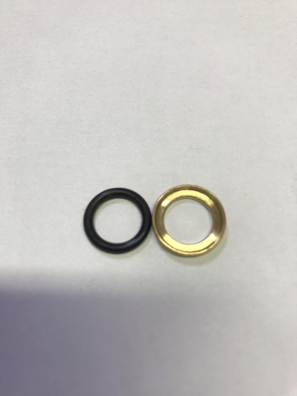 Комплект колец 10х1 (уплотнительное + нажимное)