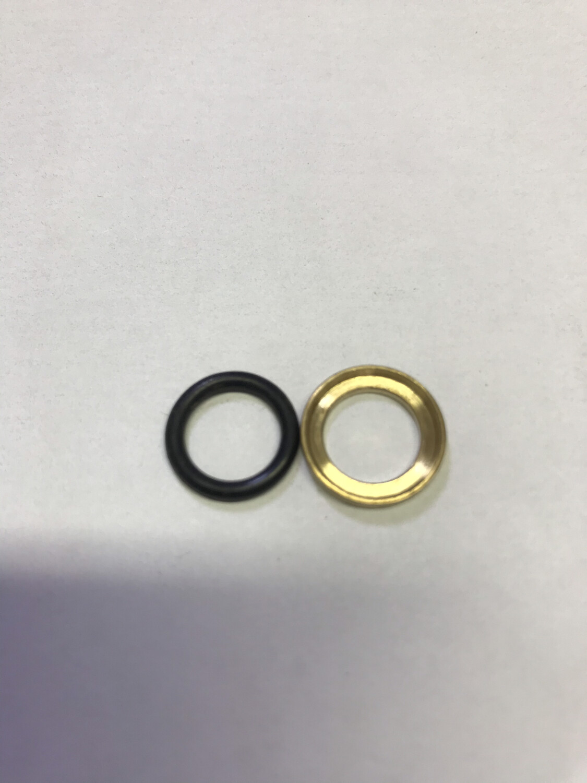 Комплект колец 12х1,5 (уплотнительное + нажимное)