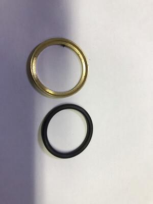 Комплект колец 22х1,5 (уплотнительное + нажимное)