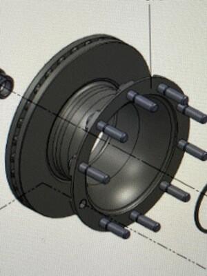 Тормозной диск Valx 430