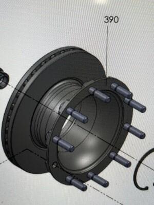 Тормозной диск Valx 370