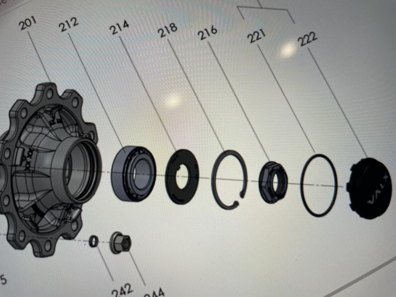 Ступица Valx БТ 10 шпилек