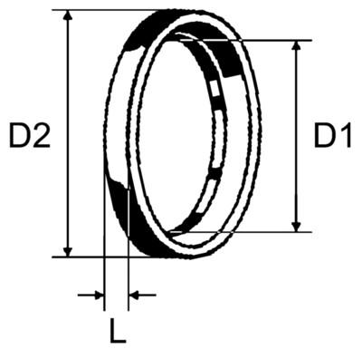 Кольцо нажимное 16х1,5