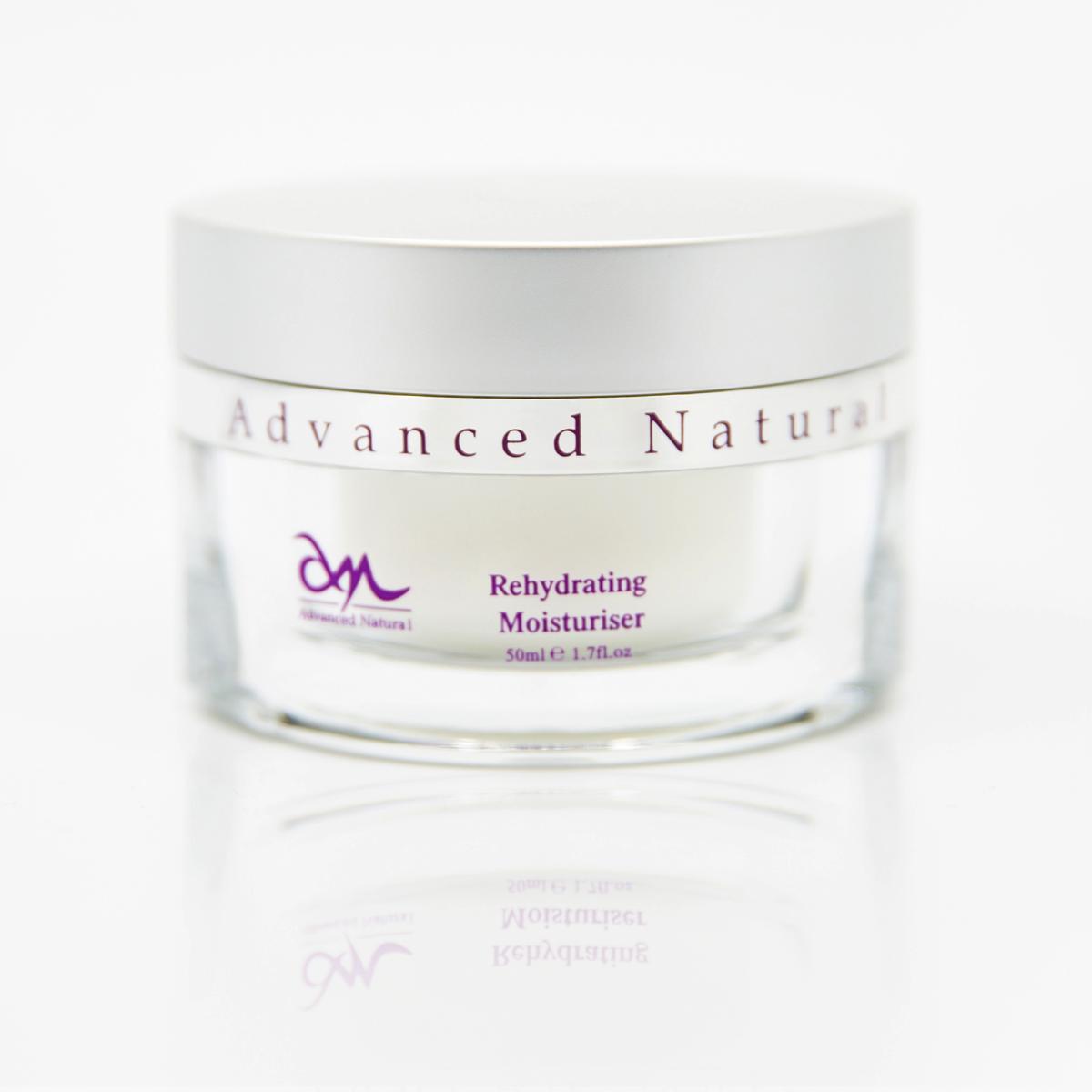 Advanced Natural Skin Care Rehydrating Moisturiser Регидрирующий увлажняющий крем для лица