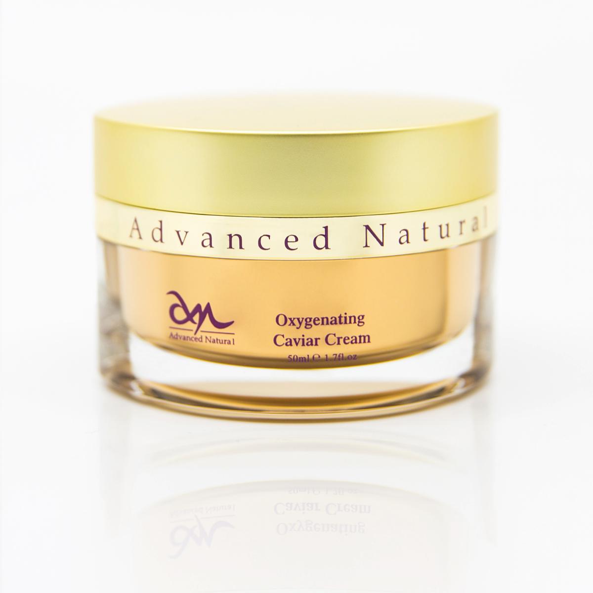 Advanced Natural Skin Care Oxygenating Caviar Cream Кислородный крем с икрой  для лица