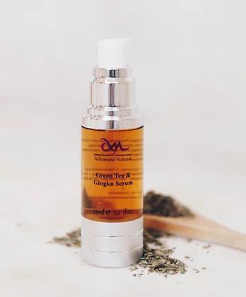 Advanced Natural Skin Care Green Tea & Gingko Serum Сыворотка для лица с зеленым чаем и гинкго