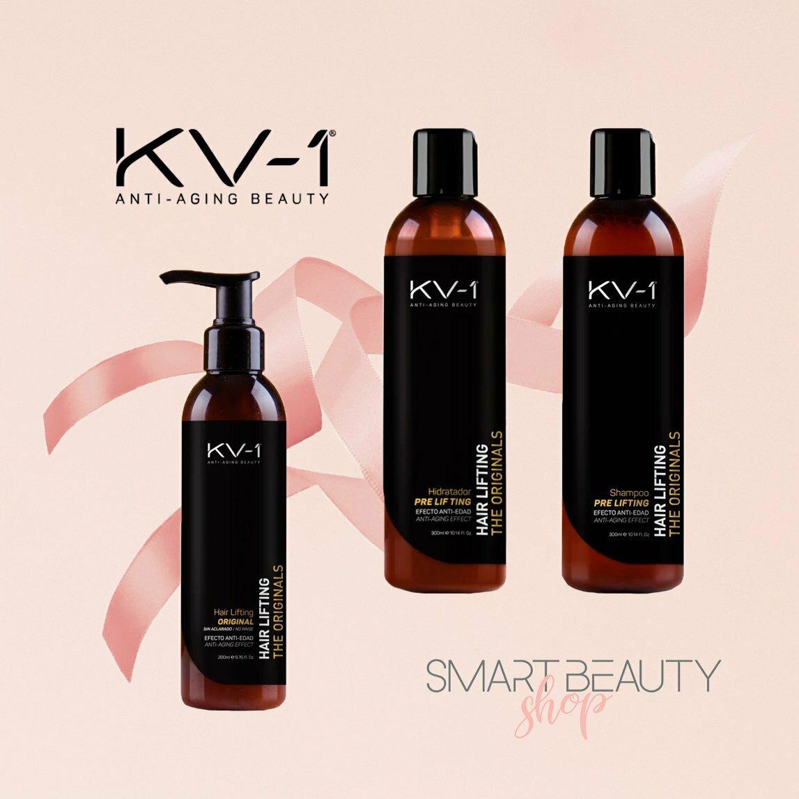 KV-1 сет для укрепления и уплотнения волос