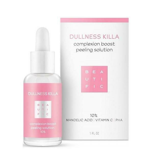 Beautific Dullness Killa Complexion Boost Peeling Solution Всесезонный пилинг 10% с миндальной и PHA-кислотами