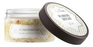 """Zeitun Oil-enriched Bath Salt Goat Milk Ароматизированная cоль для ванн """"Сливочная"""" c маслом миндаля и козьим молоком"""