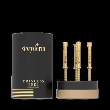 Storyderm Princess Peel Пилинг - крем с золотыми микроиглами