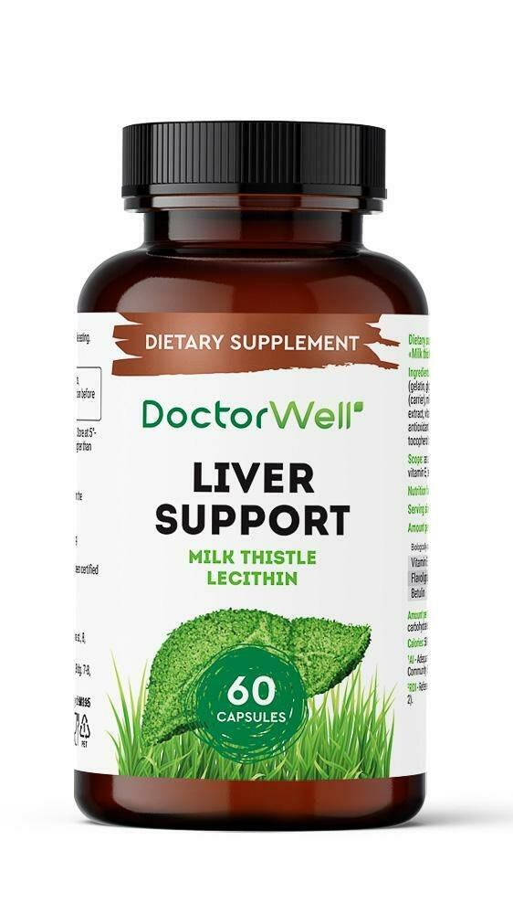 DoctorWell Liver Support БАД для печени