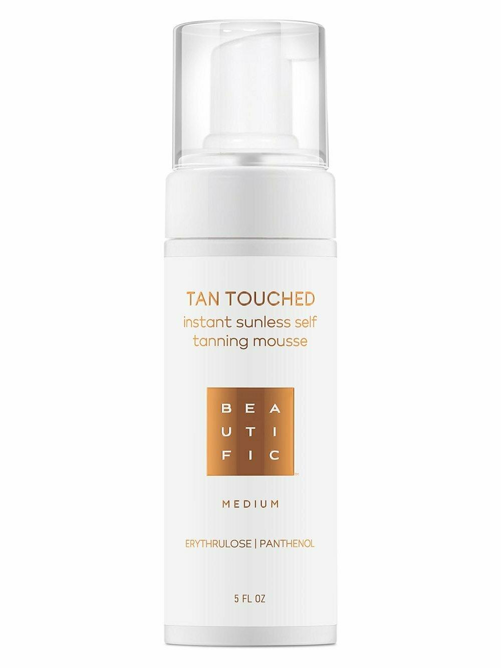 Beautific Tan Touched Mousse Medium Тонизирующий мусс для тела