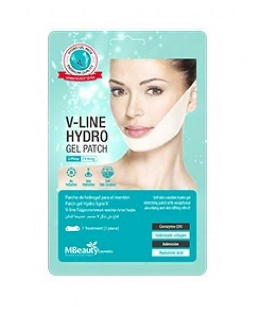 MBeauty V-Line Hydro Gel Patch Подтягивающая маска-бандаж с гидрогелем для линии подбородка и овала лица