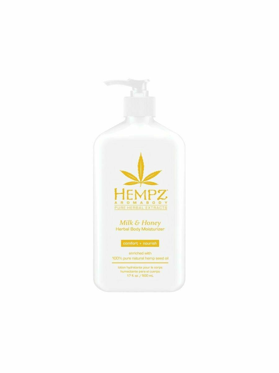 Hempz Milk & Honey Herbal Body Moisturizer Молочко для тела увлажняющее Молоко и Мёд