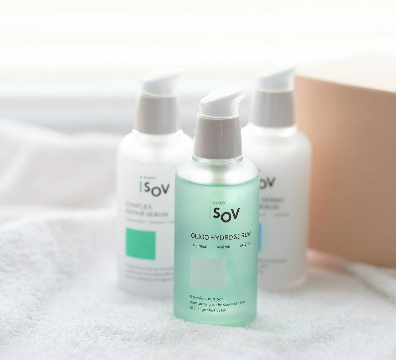 Isov Sorex Oligo Hydro Serum Айсов восстанавливающая сыворотка для лица