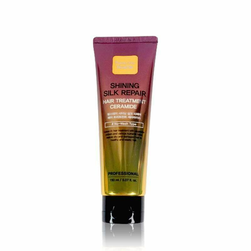 FarmStay Shining Silk Repair Hair Treatment Ceramide Укрепляющая маска волос с керамидами