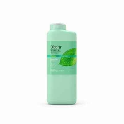 Dicora Urban Fit Shower Gel Detox Green Tea Крем-гель для душа Детокс