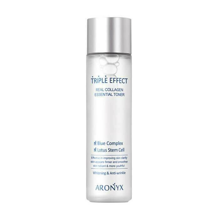 Medi Flower Aronyx Triple Effect Real Collagen Essential Toner Тонер для лица с морским коллагеном