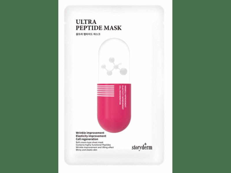 Storyderm Ultra Peptide Mask Сторидерм ультра пептидная маска на тканевой основе