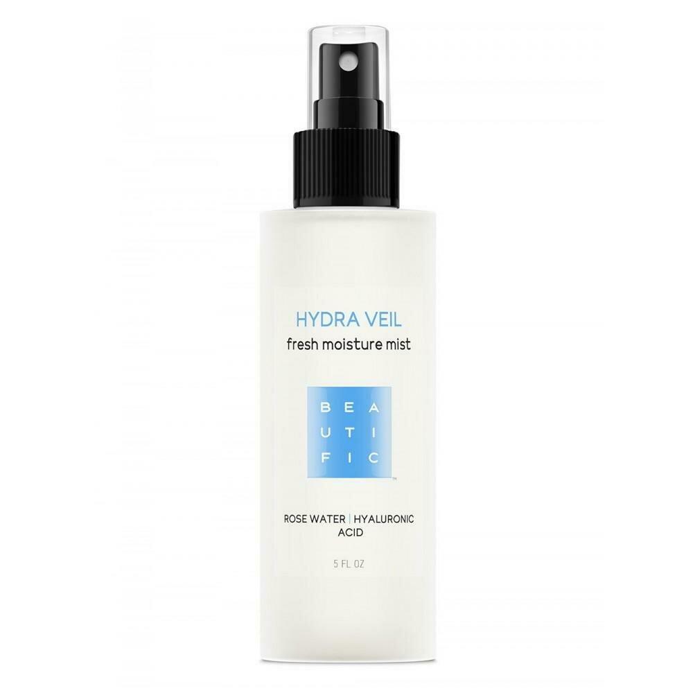 Beautific Hydra Veil Fresh Moisture Mist Увлажняющий тонер - мист с гиалуроновой кислотой и розовой водой