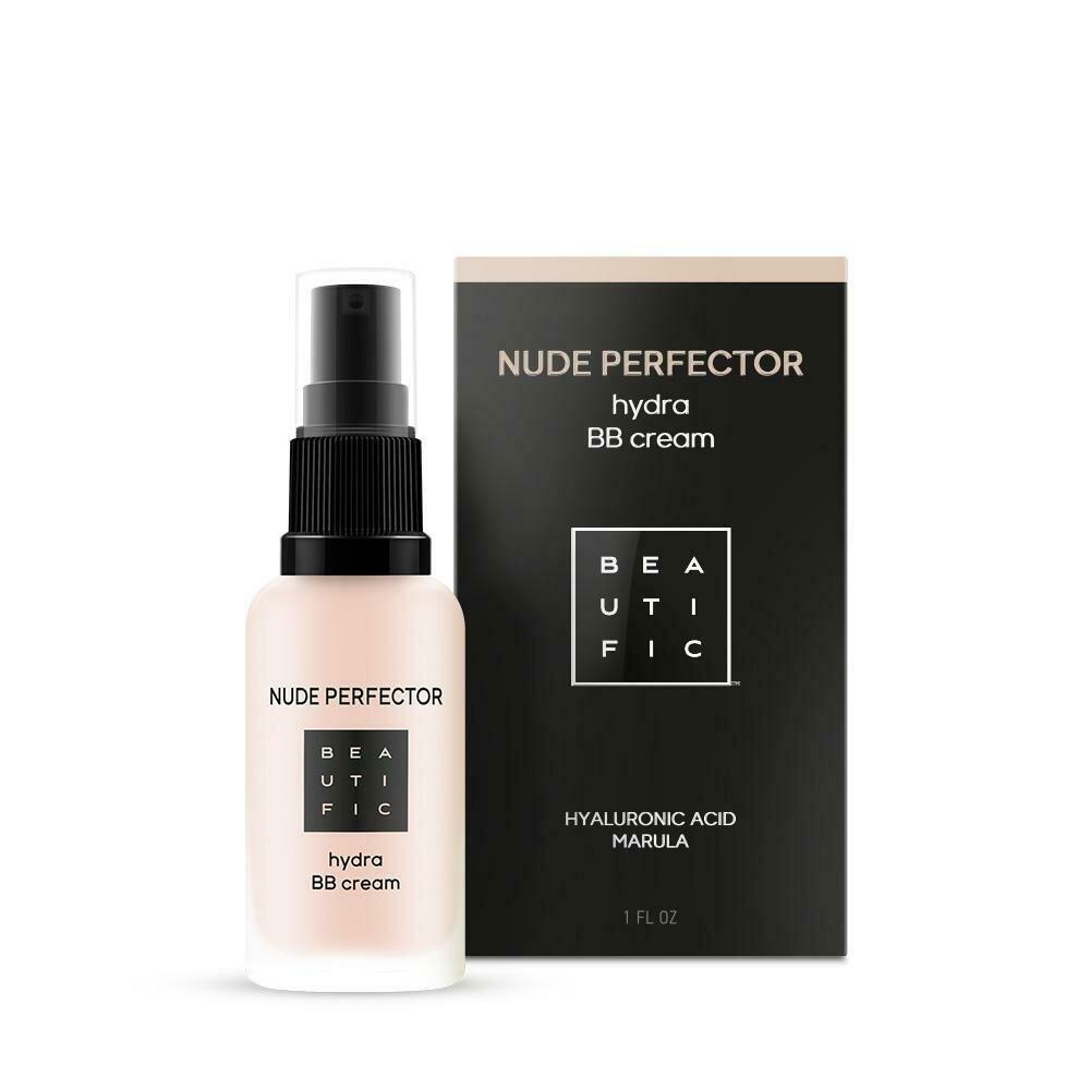 Beautific Nude Perfector Hydra BB Cream Тонирующий BB-крем с гиалуроновой кислотой