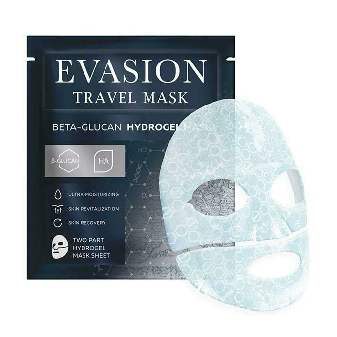 Evasion Travel Mask Beta-Glucan Hydrogel Mask Эвазион гидрогелевая маска для лица