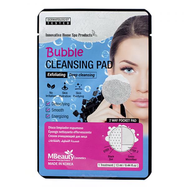 MBeauty Bubble Cleansing Pad Пенящаяся очищающая подушечка для лица