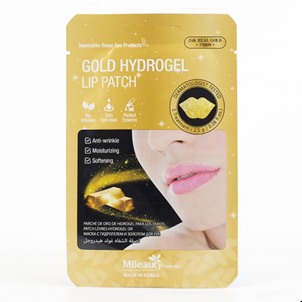 MBeauty Gold Hydrogel Lip Patch Гидрогелевые патчи для губ с золотом