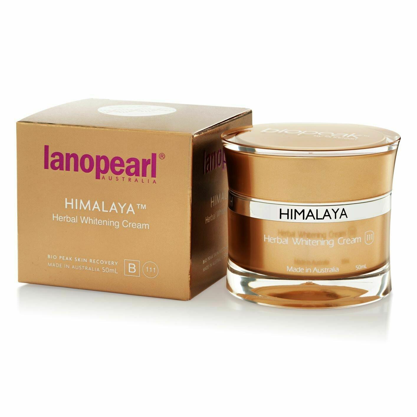 Lanopearl Himalaya Herbal Whitening Cream Отбеливающий крем с растительными компонентами