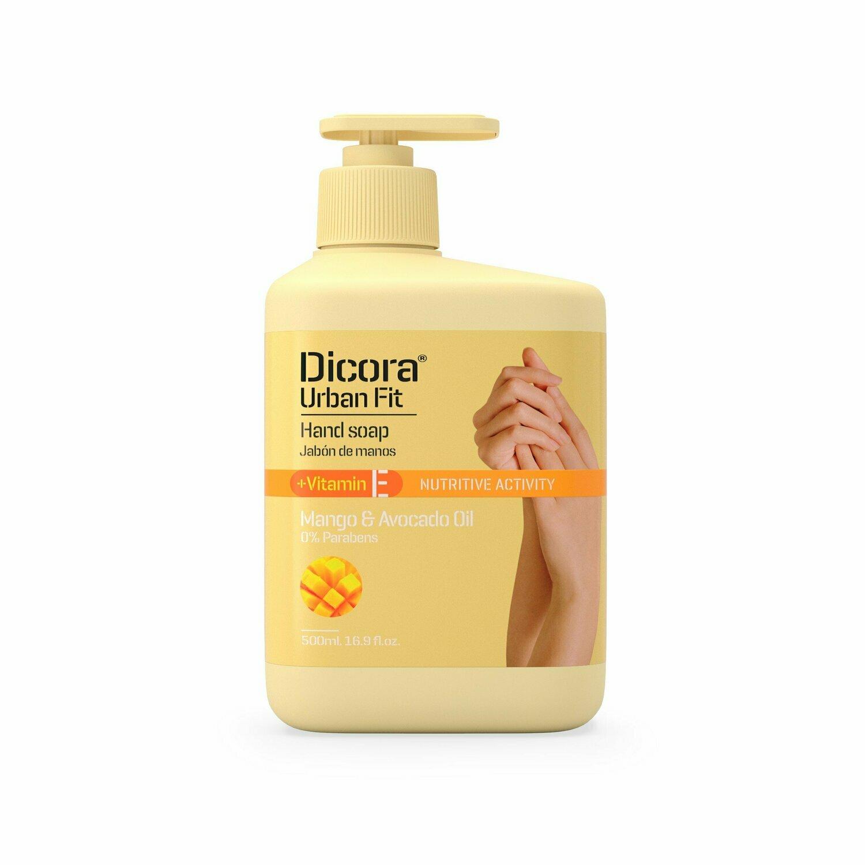 "Dicora Urban Fit Hand Soap Vitamin E ""Mango & Avocado Oil"" Крем-мыло для рук ""Манго и Масло Авокадо"""