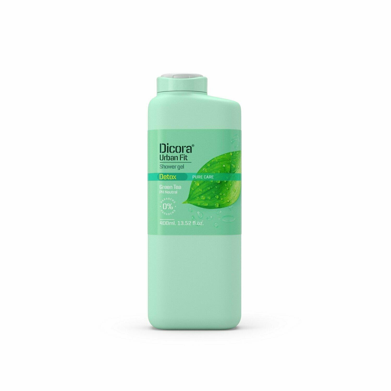 "Dicora Urban Fit Shower Gel Detox Green Tea Крем-гель для душа Детокс ""Зеленый Чай"""