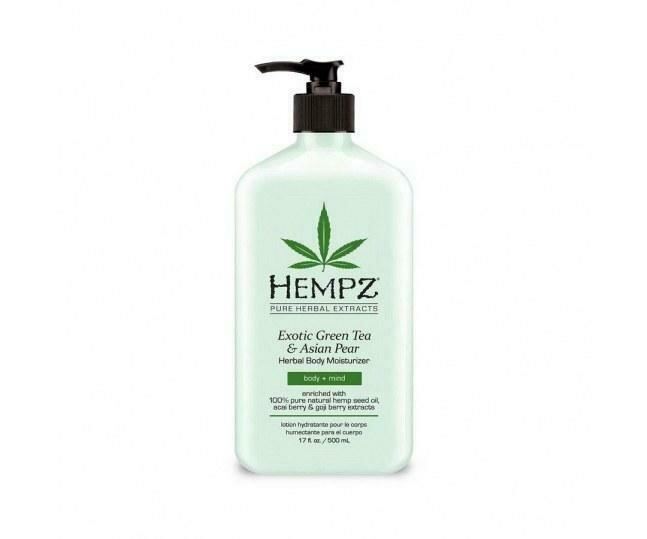 Hempz Exotic Green Tea & Asian Pear Herbal Moisturizer Молочко для тела увлажняющее Зеленый чай и Груша