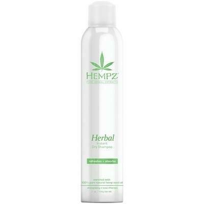 """Hempz Herbal Instant Dry Shampoo Сухой растительный шампунь """"Здоровые волосы"""