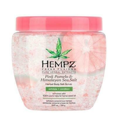 Hempz Pink Pomelo & Himalayan Sea Salt Herbal Body Salt Scrub Скраб для тела Помело и Гималайская соль