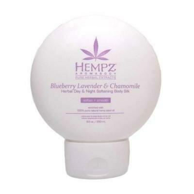 Hempz Blueberry Lavender & Chamomile Herbal Softening Body Silk Шёлк для лица и тела смягчающий Лаванда, Ромашка и Дикие Ягоды