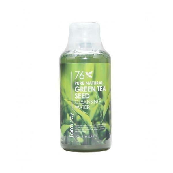 FarmStay Pure Natural Green Tea Seed Cleansing Water Очищающая вода с экстрактом зеленого чая