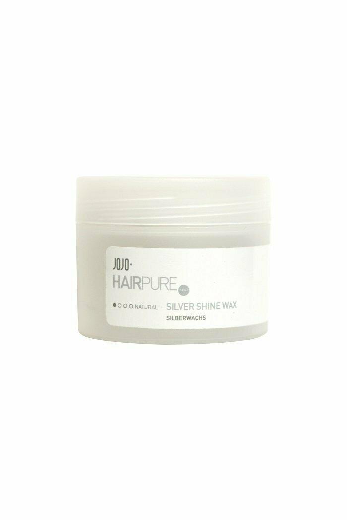 JoJo Natural Silver Shine Wax Воск для укладки волос с серебристым блеском
