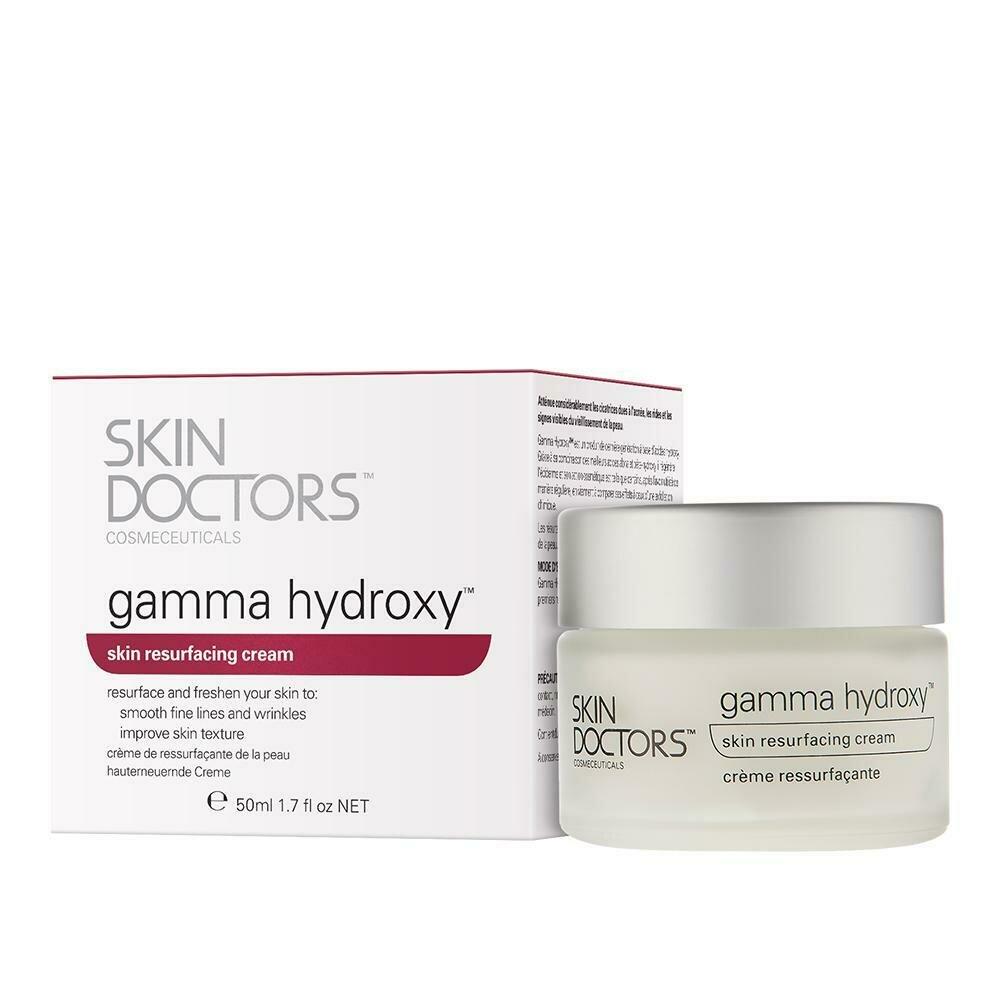 Skin Doctors Gamma Hydroxy Обновляющий крем против рубцов, морщин, пигментации и видимых признаков увядания кожи лица