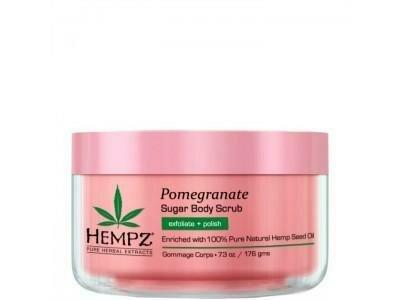 Hempz Sugar & Pomegranate Body Scrub Скраб для тела Сахар и Гранат