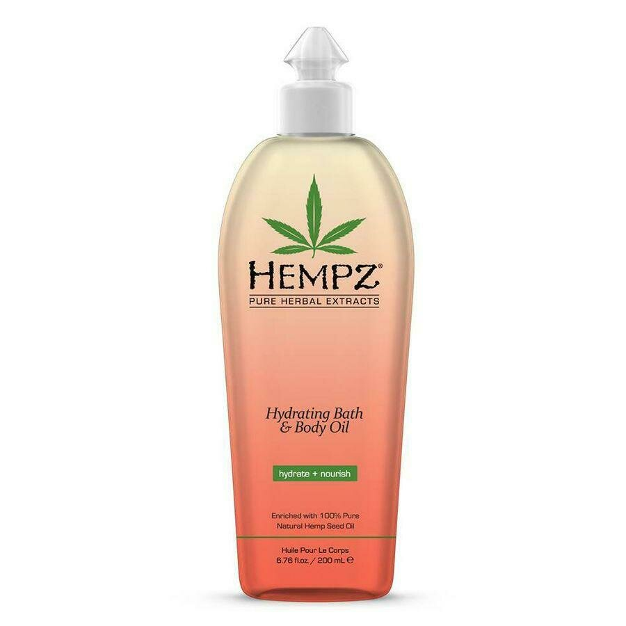 Hempz Hydrating Bath & Body Oil увлажняющее масло для тела и ванны