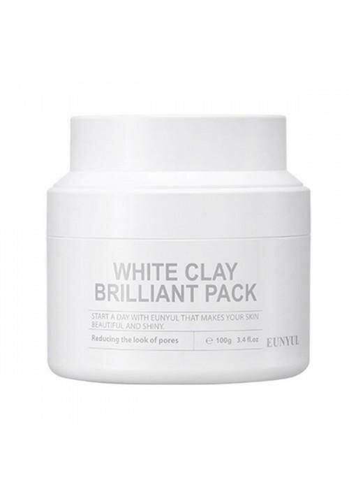 Eunyul White Clay Brilliant Pack Очищающая маска с белой глиной