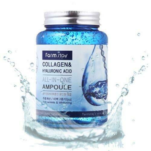 FarmStay Collagen&Hyaluronic Acid Ampoule Ампульная сыворотка с гиалуроновой кислотой и коллагеном