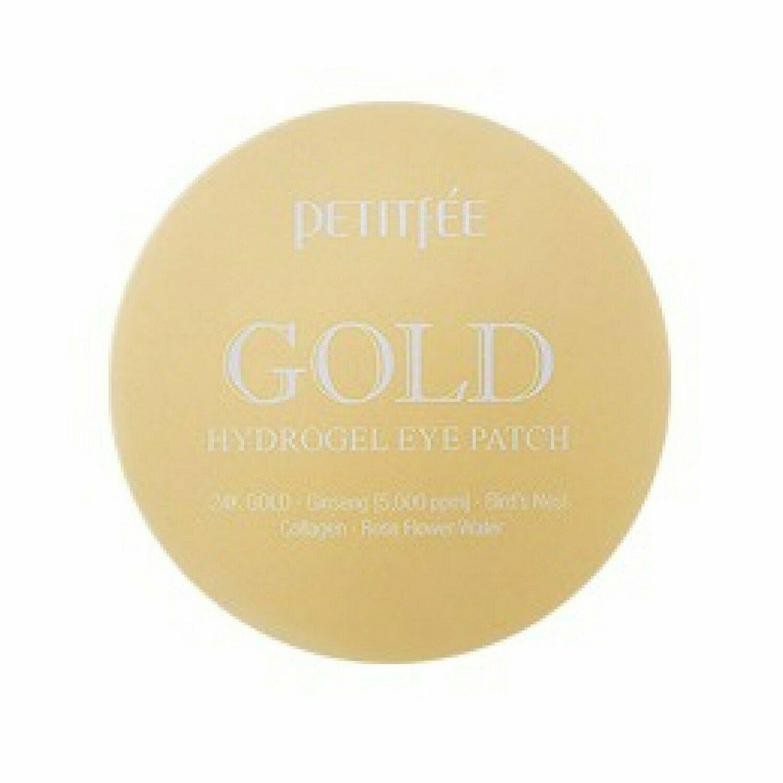 Petitfee Gold Hydrogel Eye Patch Гидрогелевые патчи для глаз с коллоидным золотом