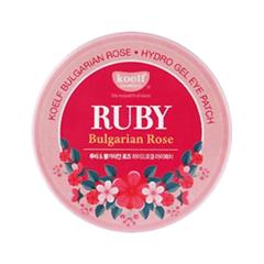 Koelf Ruby & Bulgarian Rose Гидрогелевые патчи для глаз (30 пар)