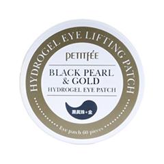 Petitfee Black Pearl & Gold Гидрогелевые патчи для глаз