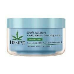 Hempz  Triple Moisture Herbal Body Scrub Скраб для тела Тройное Увлажнение