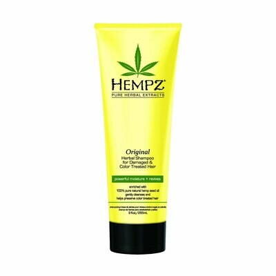 Hempz Original Herbal Shampoo For Damaged & Color Treated Hair Шампунь для поврежденных и окрашенных волос