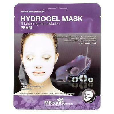 MBeauty Pearl Hydrogel Mask Осветляющая гидрогелевая маска с жемчугом