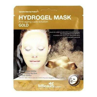 MBeauty Gold Hydrogel Mask Антивозрастная гидрогелевая маска с золотом