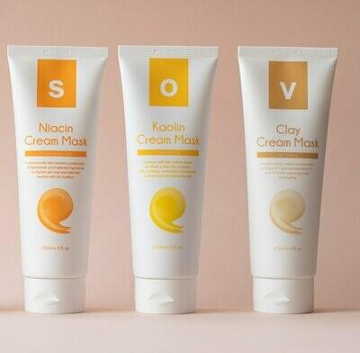 Isov Clay Cream Mask  Айсов глиняная маска для жирной кожи